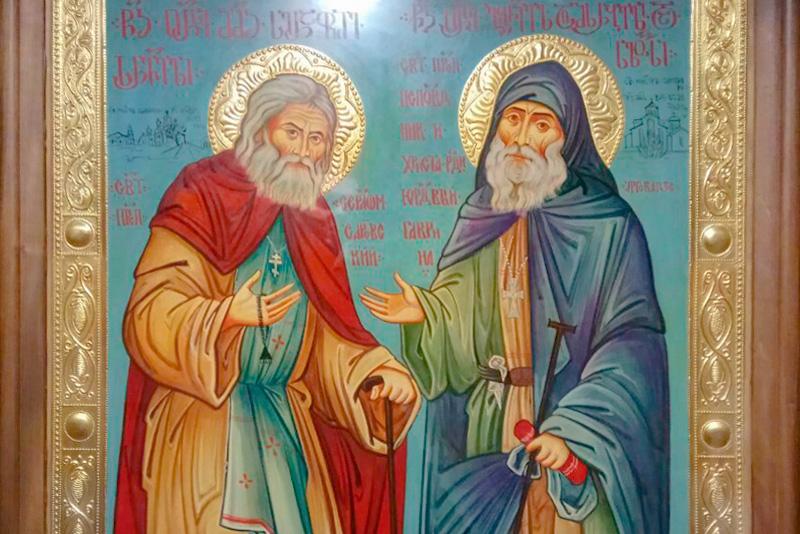 Икона «Дружба Русского и Грузинского православных народов» в Ижевске